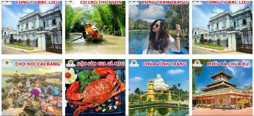Chuyến đi tham quan Miền Tây đáng nhớ với đại lý tour Rồng Việt Nam