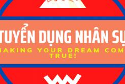 Tuyển dụng DL Rồng Việt Nam
